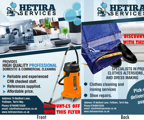 Flyer page (Graphics)